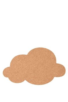 shaped cork board, CLOUD