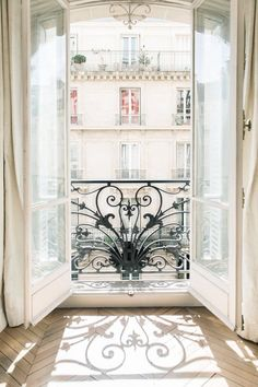 Paris Photography Morning Light on Rue Saint Dominique Travel Photograph Neutral Decor Large Wall Art French Home Decor Gallery Wall
