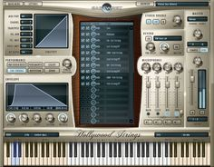 EASTWEST/QUANTUM LEAP announces the debut of its latest release, HOLLYWOOD STRINGS virtual (software) instrument — a collection of 44.1khz 24-bit string instruments with unprecedented control over sound and performance, all supplied on a hard drive (*see conditions below) for ease of installation.    Recording for HOLLYWOOD STRINGS took place at the famous EASTWEST STUDIO 1, the same studio where many Hollywood soundtracks and television themes were recorded with a live orchestra.