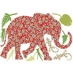 paisleys and elephant=LOVE!