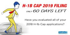 60 Day H1B Cap Red Alert: Failure to have not already evaluated H-1B applicants will threaten your April 2nd 2018 #H1B Cap filings. #h1bcap2019 #h1bvisa #h1b