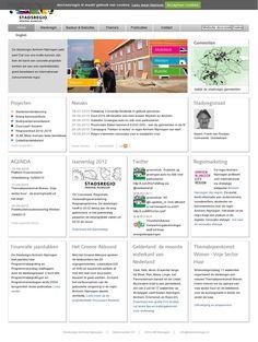 Van 2009 tot februari 2015 verantwoordelijk voor de website van De Stadsregio Arnhem Nijmegen. O.a. in 2011 aanbesteding en functioneel ontwerp geschreven voor de website, extranet en intranet.  'www.destadsregio.nl'