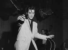 Elvis Presley: Elvis released his first RCA single, had his first television appearance, and his first movie release – all in 1956.