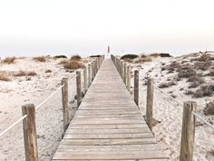 Holzsteg Meer Algarve Algarve, Am Meer, Yoga, The Gathering, Thesis, Railroad Tracks, Outdoor, Travel Inspiration, Viajes
