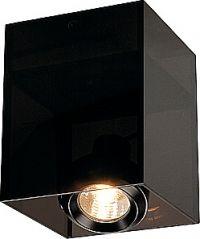 ACRYLBOX 1er GU10, schwarz/transluzent - www.leuchtmittel-verkauf.de