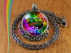 Yokai Yo-Kai Youkai Watch Anime Cosplay Medal Plush Necklace Pendant Jewelry #Handmade