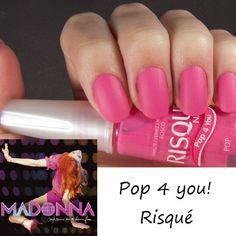 Madonna chegou ao Brasil!  Quem for ao show, ou apenas quiser se inspirar em 'Hung Up' esta semana, sugerimos o Pop 4 You da Risqué! Quem curte?