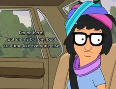 Tina Belcher is my soul sister | The Friendly Fig
