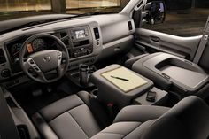 interior car office -