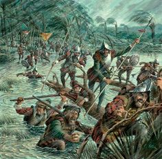 Pedro Menendez de Avilés conquista fuerte hugonote en Carolina