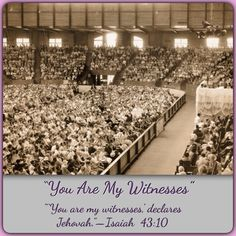"""""""You Are My Witnesses"""" ~ What does our being called Jehovah's Witnesses mean? To find the answer to this & other questions, please visit JW.org > Publications > Magazines > The WATCHTOWER (STUDY EDITION) JULY 2014, """"You Are My Witnesses."""""""