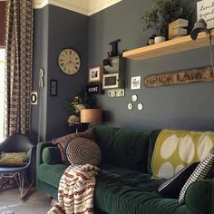An Abigail Ahern-Inspired Living Room Filled with Thrifted Treasures — Favorite Rooms