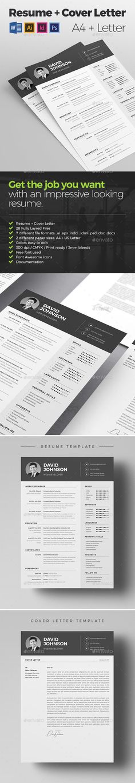 Clean Resume/Cv Template n1 - Amanda by TheResumeCreator on
