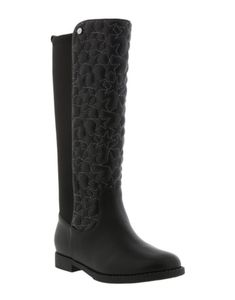 6a2243c75 Classic girls tall ridding boot with a Sam Edelman flare All Black Shoes