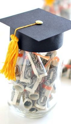 Graduation Gift with Dollar Diplomas  The How-To is simple.