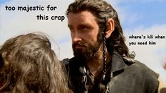 Thorin.  He's too majestic fo this crap.
