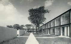 Mies van der Rohe, Lafayette Park Housing Project, (1959)