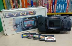 Curious one by stridz0r #gamegear #microhobbit (o) http://ift.tt/1QdyeXq Lynxis an 8 bithandheld game consolethat was released by#Atari Corporationin October 1989 in North America and in Europe and Japan in 1990. The #Lynx holds the distinction of being the world's first#handheld electronic gamewith a colorLCD. The system is also notable for its forward-looking features advanced graphics and#ambidextrouslayout. As part of thefourth generation of #gaming the Lynx competed with…