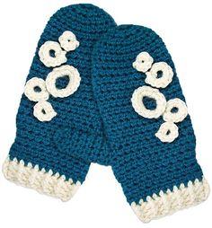 cutecrocs.com crochet mittens (10) #crocheting