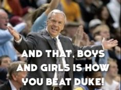 tarheels beat duke - Google Search