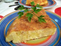 Tortilla de Patatas Esponjosa ~ Mi Cocinita de Juguete