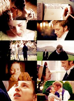 RPJ Rupert Penry Jones as Captain Wentworth in Jane Austen s Persuasion ~ the tear-stained diary gets me every time