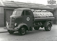 black and white texaco truck photos - Google Search