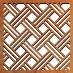 Open Basketweave Pattern …