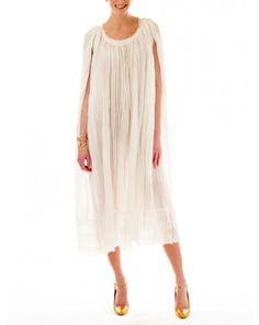 10 Crosby Derek Lam White Pleated Dress