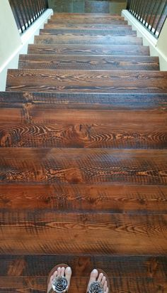 From Sustainable Lumber Co. Farmhouse Renovation, Home Renovation, Home Remodeling, Rustic Wood Floors, Wood Flooring, Future House, My House, Floors And More, Home Fix