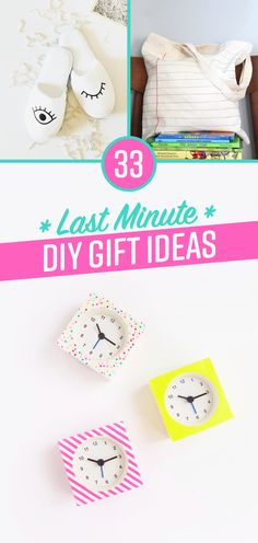 https://www.buzzfeed.com/alannaokun/last-minute-diy-gift-ideas?bffbdiy&utm_term=.wioWgG1jL#.fj88aYQvx It's the thought that counts, but you may as well make it cute too.