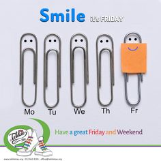 """Smile its Friday and only 4 more Friday's to Christmas! Have a great day and fun filled weekend. We hope you will """"Be Mezzzmerized and Get Tekkietized"""" this weekend! South African Celebrities, Have A Great Friday, Disability, Grateful, Wings, Bring It On, Inspire, Smile, Education"""