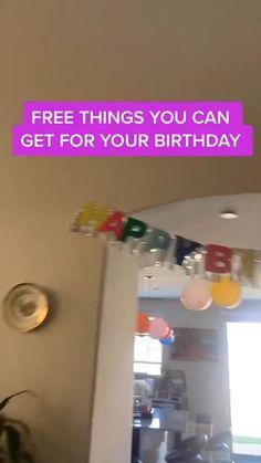 Teen Life Hacks, Useful Life Hacks, Freebies On Your Birthday, Diy Birthday, Birthday Gifts, All You Need Is, Amazing Life Hacks, Everyday Hacks, Stuff To Do