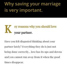 Marriage Boot Camp, Marriage Celebrant, E 3, Saving Your Marriage, Self Help, Thinking Of You, Love You, Good Things, Instagram