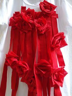 2015SS COMME des GARCONS立ち上がり「薔薇と血のTシャツ」 | パリが私に恋をした・・・♪