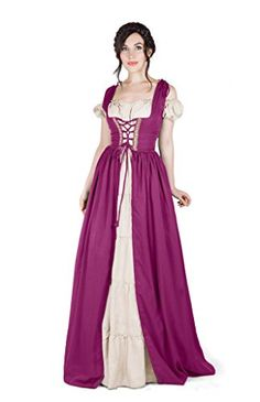 Renaissance Medieval Irish Costume Over Dress & Boho Chem... https://www.amazon.com/dp/B01ICYW14I/ref=cm_sw_r_pi_dp_x_axVBybKCMDP75