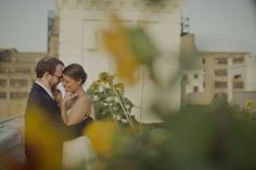July Wedding at Brooklyn Grange PC: Sarah Gormley Photography Nyc Wedding Venues, Manhattan Skyline, July Wedding, Brooklyn, Reception, Weddings, Couple Photos, Photography, Outdoor