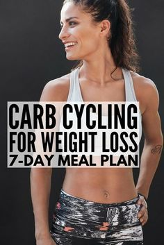 Carb Cycling for Weight Loss | Carb cycling can be an effective and easy tool for losing weight for women and for men alike, and we're sharing our favorite 7-day carb cycling meal plan, which is chock full of ideas and low carb recipes to help you get a lean, toned body. These recipes are the perfect compliment to the keto diet and we've even included a carb cycling food list! weightloss carbcycling carbcyclingmealplan lowcarb carbcyclingrecipes keto ketodiet ketorecipes Diet Plans To Lose Weight, Losing Weight Tips, How To Lose Weight Fast, Lose Fat, Weight Loss Meal Plan, Loose Weight, Body Weight, 7 Day Meal Plan, Diet Meal Plans