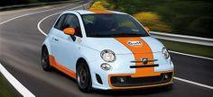 Fiat 500 Abarth Gulf Petroleum Edition