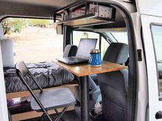 2010 Ford Transit Connect Camper For Sale in Red Lodge, Montana, something like that can pull forward Ford Transit Connect Camper, Minivan Camping, Camping Life, Camping Hacks, Camping Kitchen, Truck Camping, Camping Checklist, Camping Survival, Garage Organization