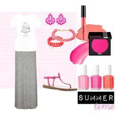 """Sweet_Fluo summertime"" by #ghirlandadipopcorn on Polyvore"