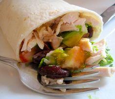 Burrito de Pollo (Chicken Burrito)