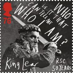 Royal Shakespeare Company stamp
