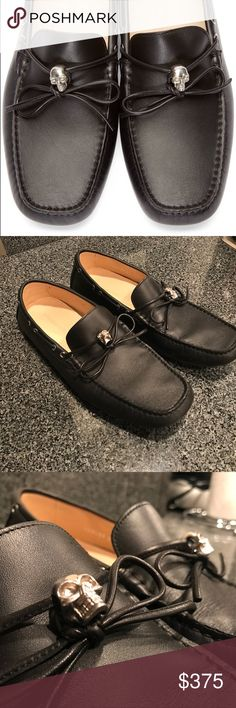 BRAND NEW MENS MCQUEEN SKULL DRIVER LOAFER Brand new. Worn once. No damage. No box. Authentic. Alexander McQueen Shoes Flats & Loafers