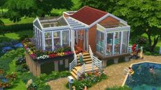 The Sims 4 Tiny Living guide: How to get the most out of your Tiny Home Residential Lot Sims 4 Houses Layout, Tiny House Layout, House Layouts, Sims 4 House Plans, Sims 4 House Building, Best Sims, Sims 3, Off Grid House, Sims 4 House Design