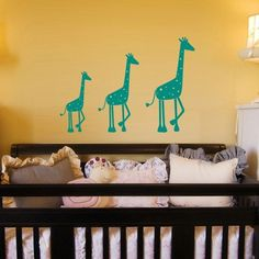 Just ordered these for nursery in a lighter green...can't WAIT!!