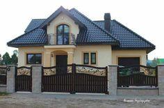 House Balcony Design, Balcony Grill Design, House Outside Design, Small House Design, Modern House Design, Exterior Paint Colors For House, Dream House Exterior, Dream House Plans, Style At Home