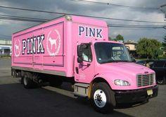 Victoria's Secret Pink Truck.