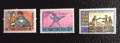 South Vietnam MNH Scott 405 407 Mailman Women and Water Buffalo BV $3 75 | eBay