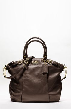 Coach: Madison Leather Lindsey Satchel       I have my eye on you :) #handbag